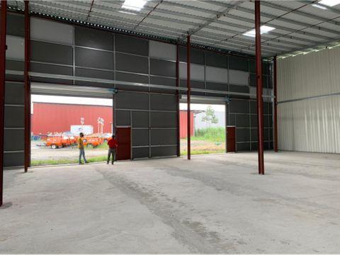 bodega parque industrial las mananitas alquiler varios metrajes