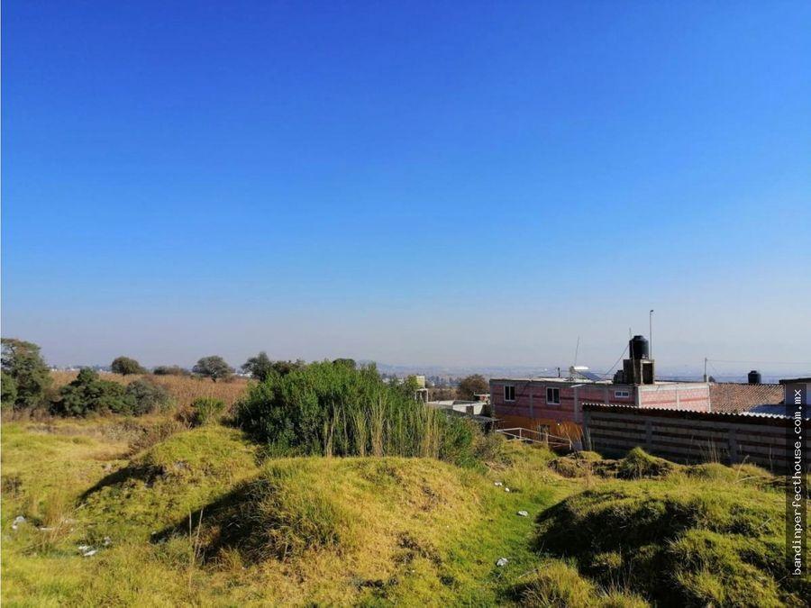 terreno en venta san lorenzo c calimaya