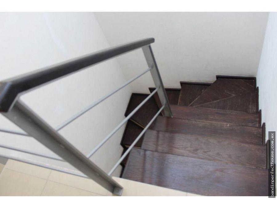 casa amueblada en condominio en renta