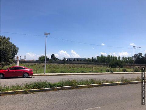 terreno en venta en metepec con uso cu333a zona con desarrollo
