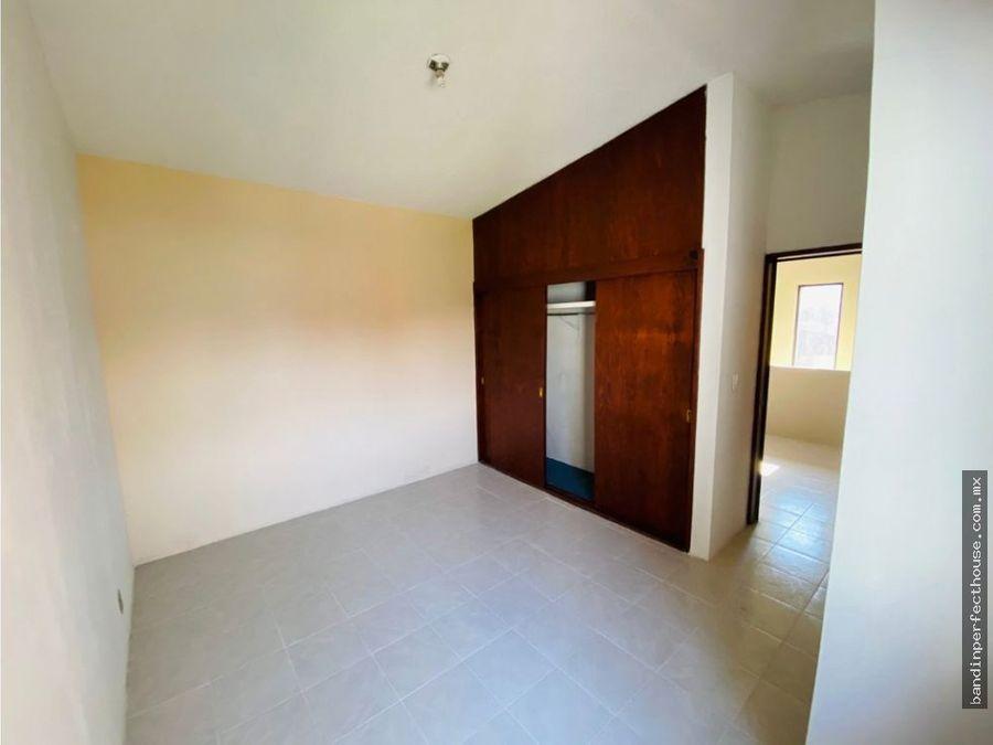 casa en condominio en renta metepec