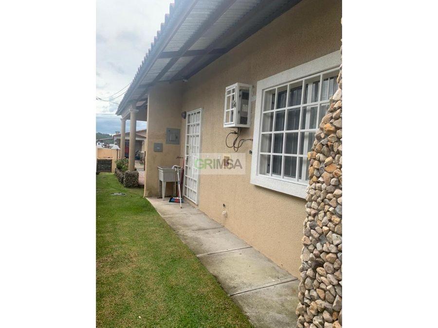 casa amoblada en altos boquete venta b14225000