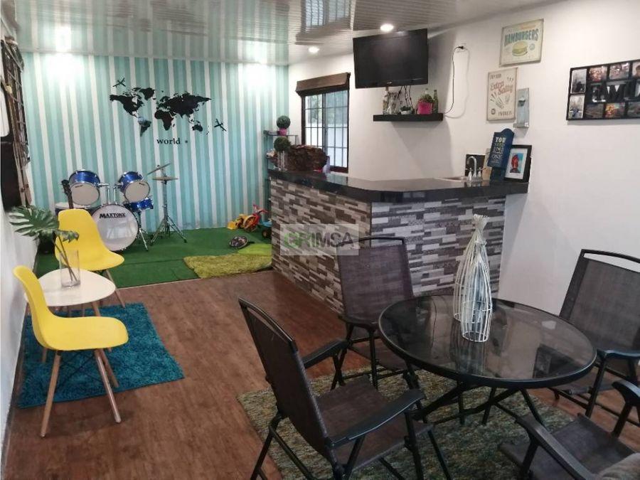 acogedora casa en quintas del lago venta b12500000