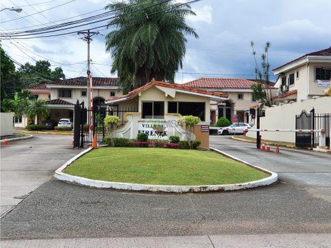 se vende alquila casa residencial duplex en albrook