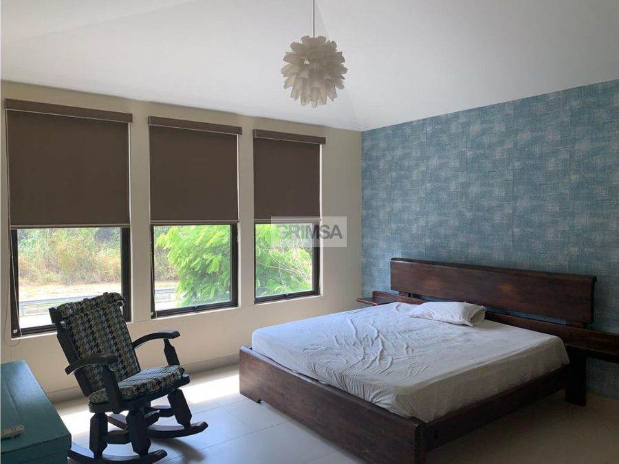 se vende casa moderna amoblada en panama pacifico