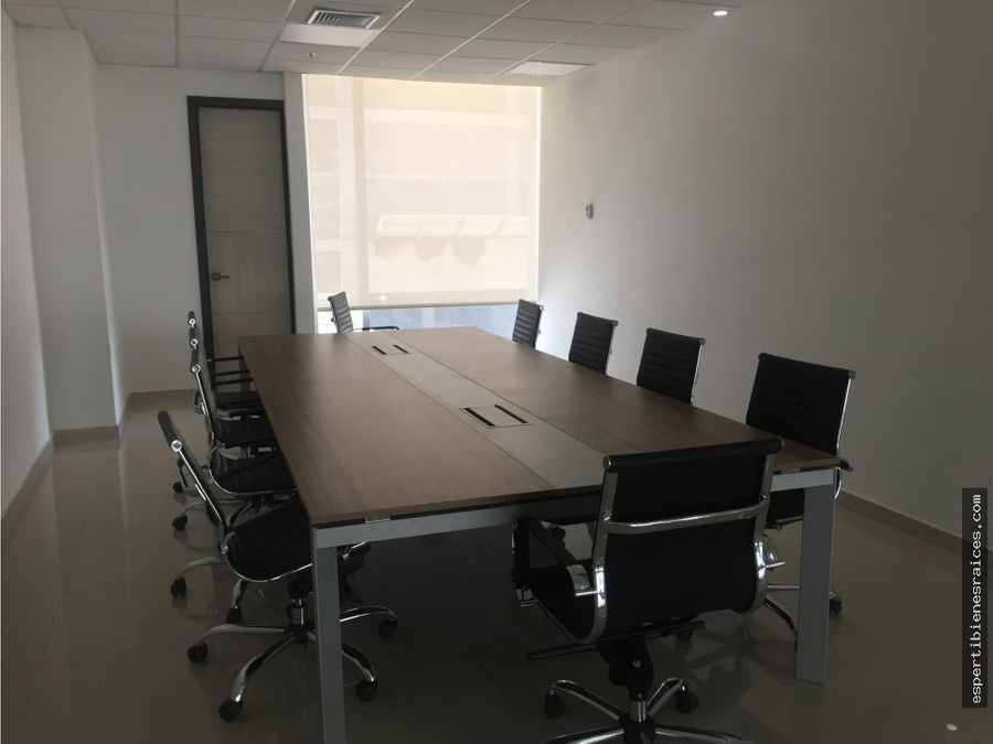 oficina en arriendo sector buenavista barranquilla