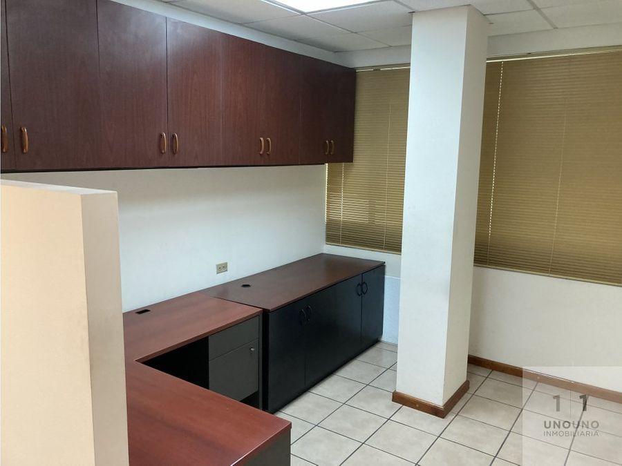 oficina con terraza en alquiler en zona 14