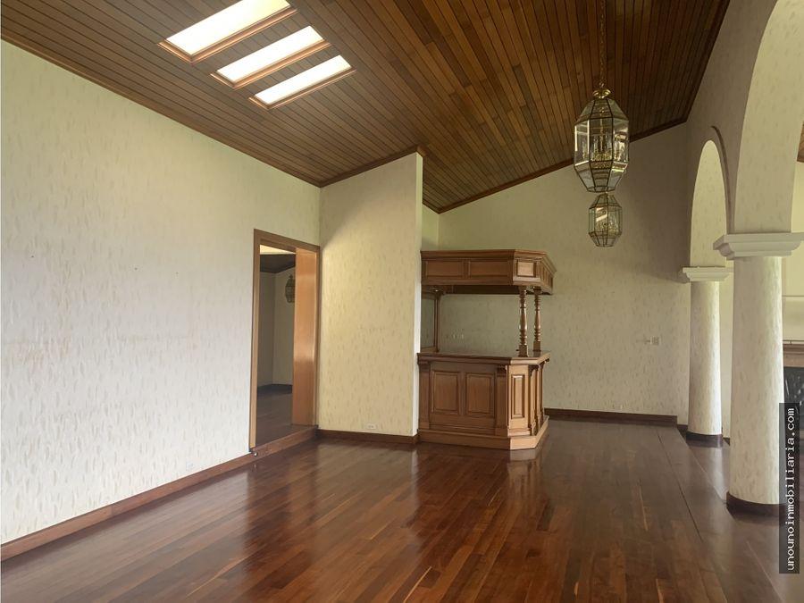 casa en venta de un nivel en san rafael km 86 ces