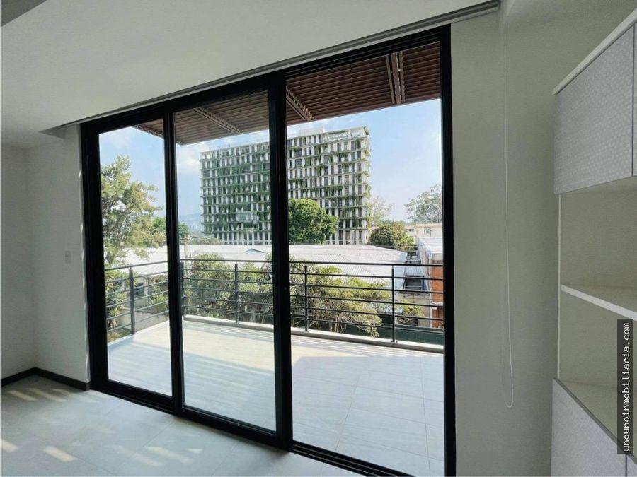 apartamento de 1 habitacion en alquiler en mira zona 10