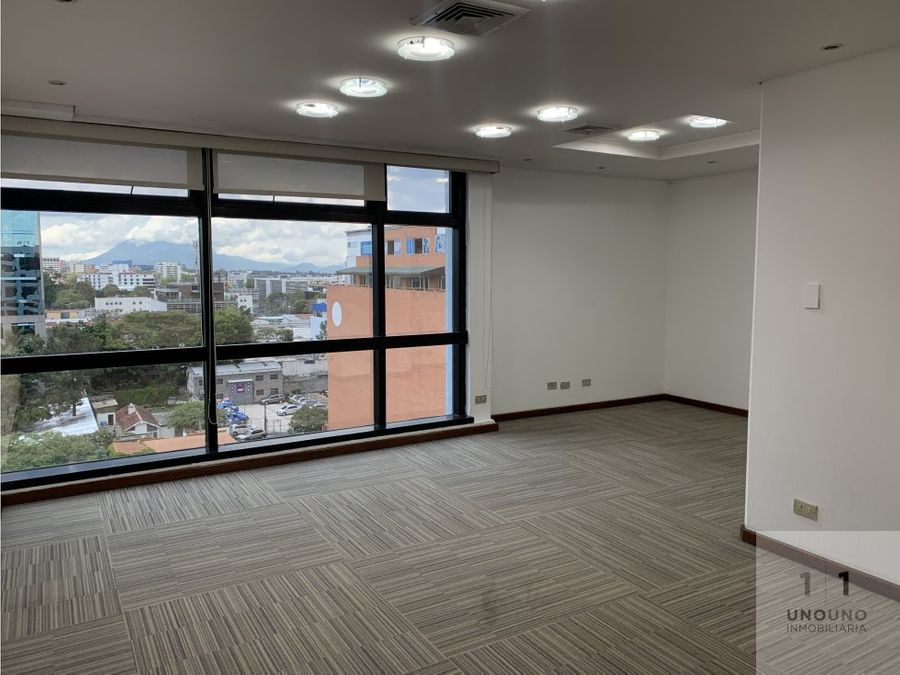 oficina en alquiler en plaza corporativa reforma zona 9