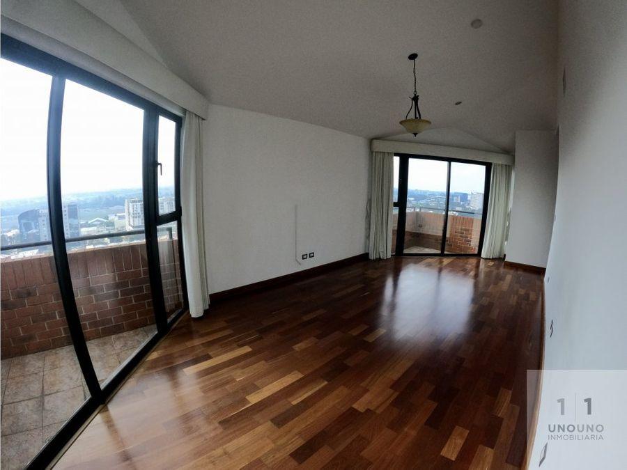 penthouse edificio zona 14