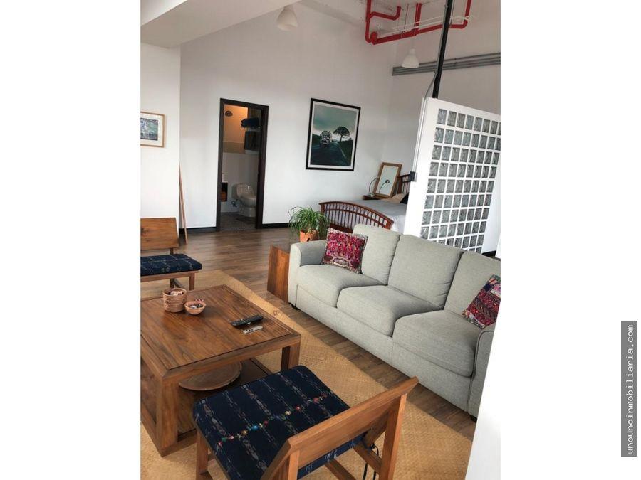apartamento en venta alquilado en centro vivo zona 1