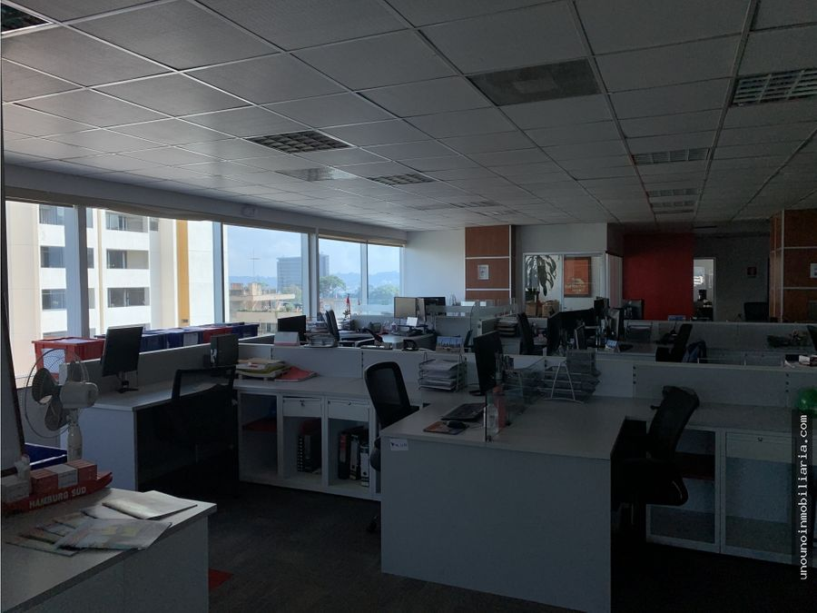 oficina en alquiler en reforma 10 zona 10