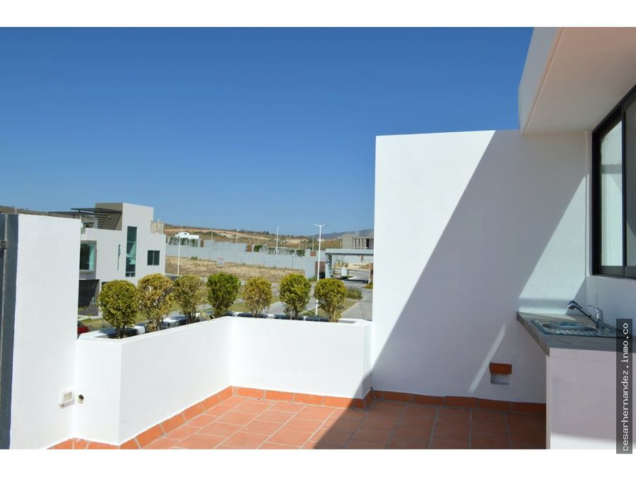 casa con roof garden senderos de monte verde