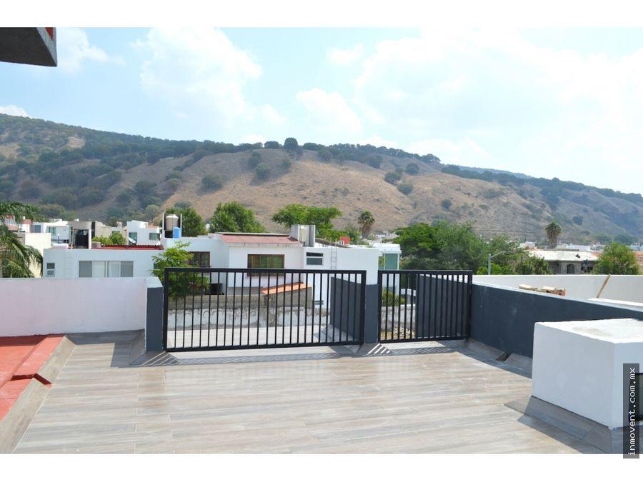 casa nueva con roof garden en privada santa anita