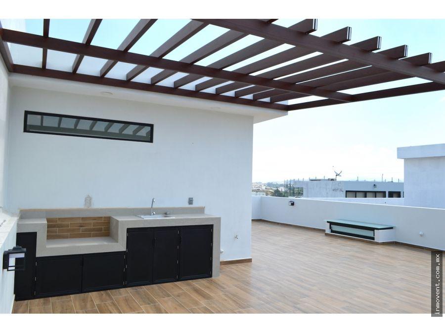 casa con roof garden valle imperial