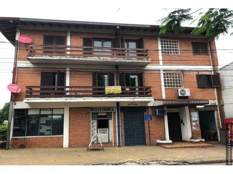 edificio con renta en el centro