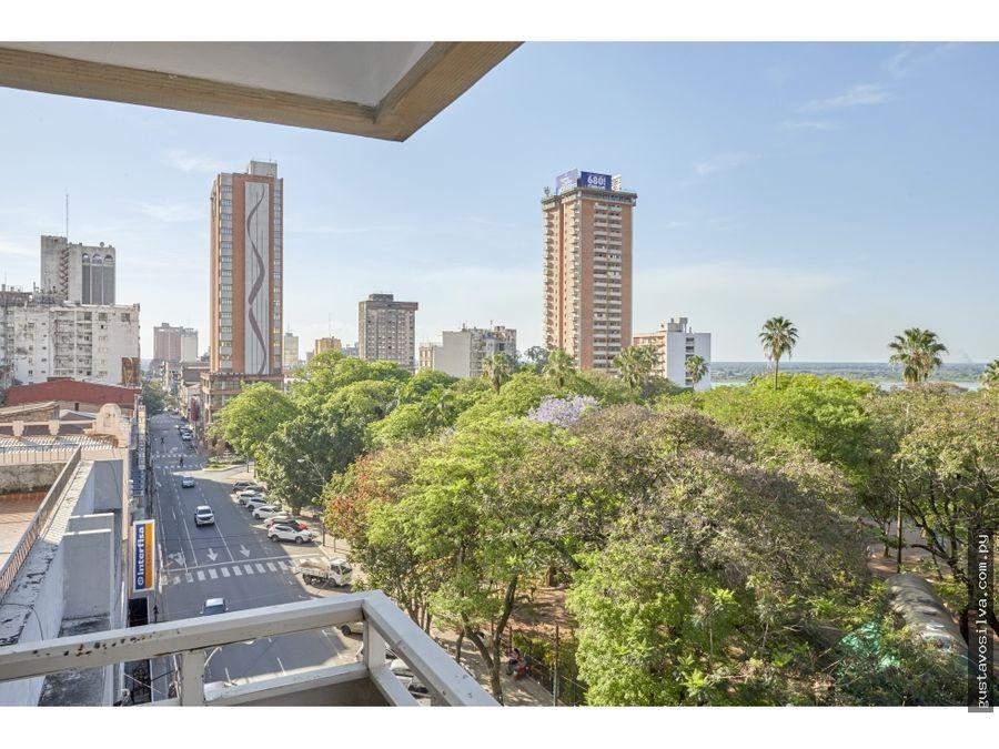 departamento de dos habitaciones plaza uruguaya