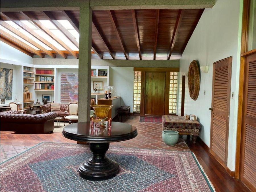 casa cerro verde con piscina 580 m2 4000 m2 terreno