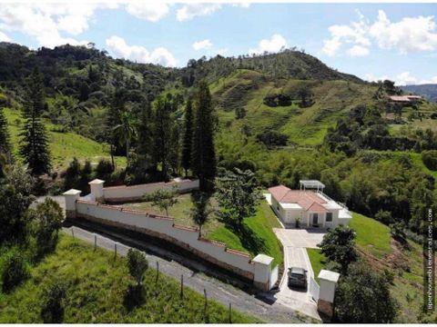 venta terreno y casa campestre en la vega cundinamarca