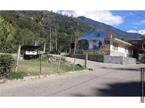 venta casa canon del combeima valle escondido
