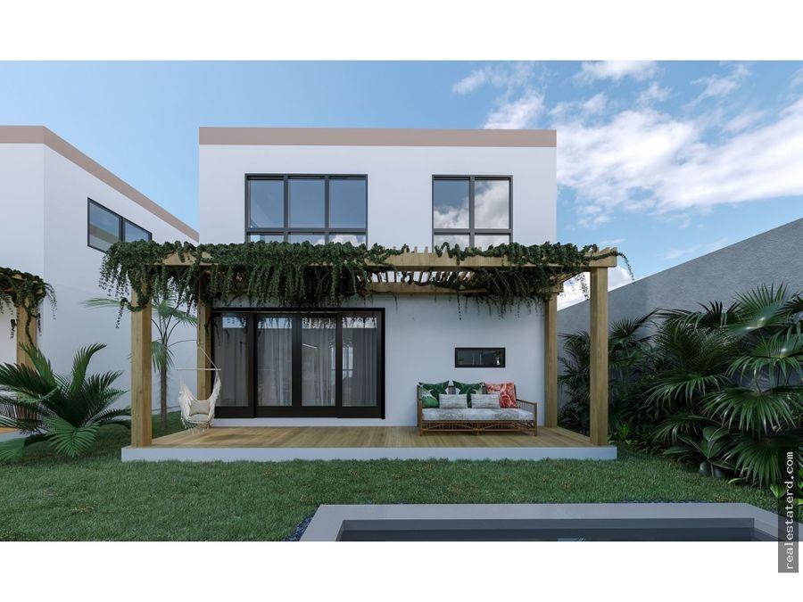 nuevo proyecto harmony villas ii con villas de 3 hab en construccion