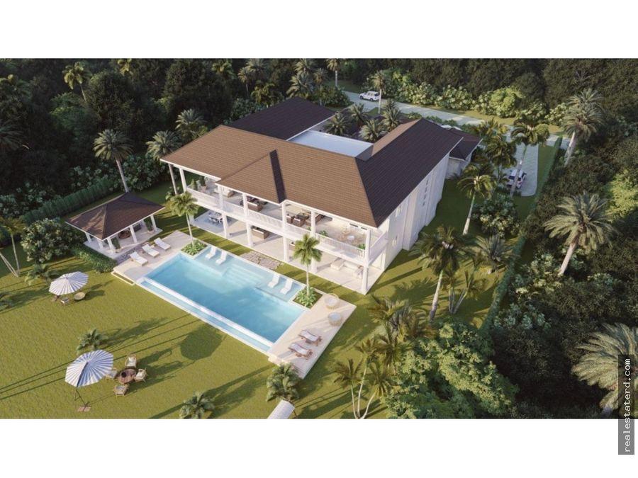 villa en construccion con 7 hab y vista al campo de golf en corales