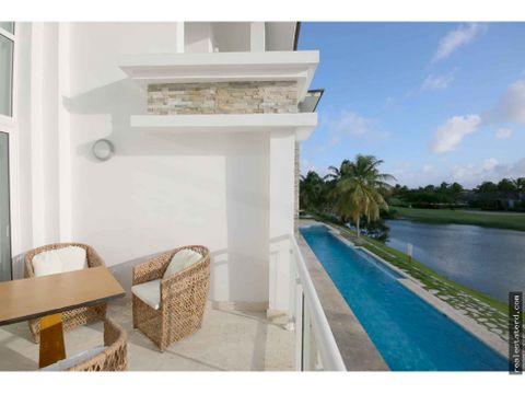 penthouse de 3 hab con visatas al golf y lago en lake village