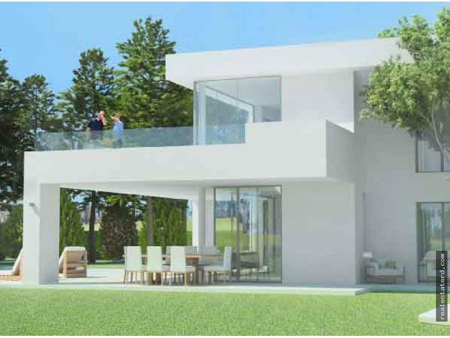 villa de 3 hab en construccion open villa las iguanas cap cana