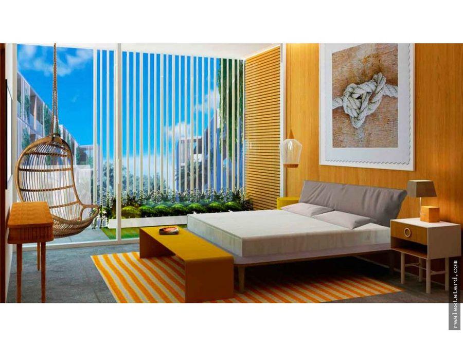 nuevo apartamento de 2 hab tipo bbalcon en kasa punta cana residence