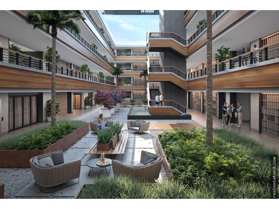 apartamento tipo b3 de 2 hab y cuarto de servicio en construccion