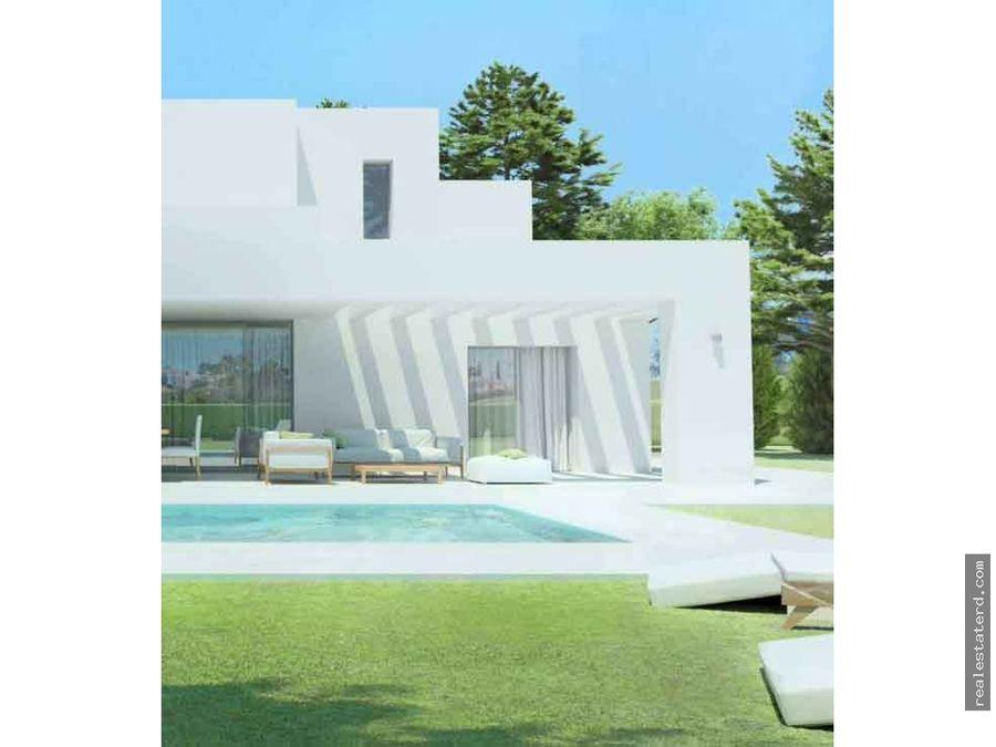 villa de 4 hab en construccion open villa las iguanas cap cana