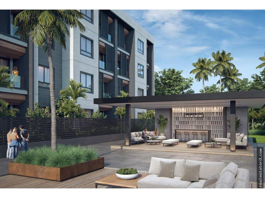 apartamento tipo b1 de 2 hab en construccion en proyecto green one ii