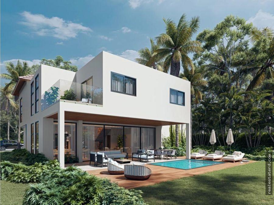villa de 3 dormitorios y estudio en puntacana village