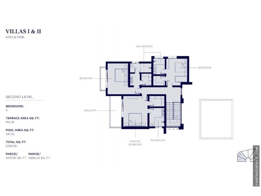 nueva villa de 3 hab en construccion con piscina privada en cocotal