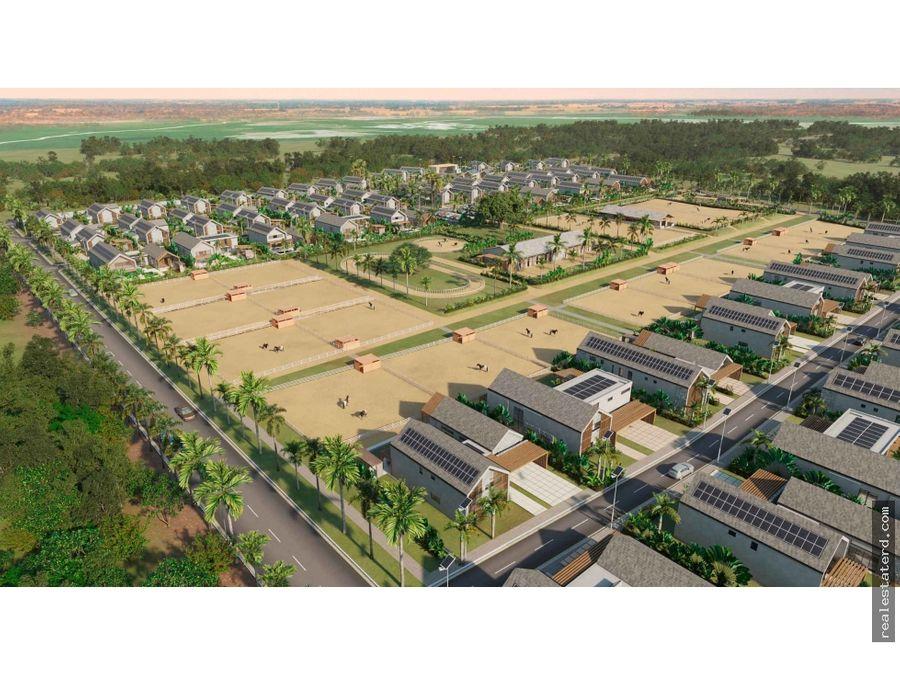 villa gypsy 1 tipo b de 3 hab en proyecto nuevo sabana equestrian