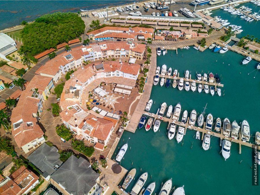 apartamento con vista al mar caribe en la marina casa de campo
