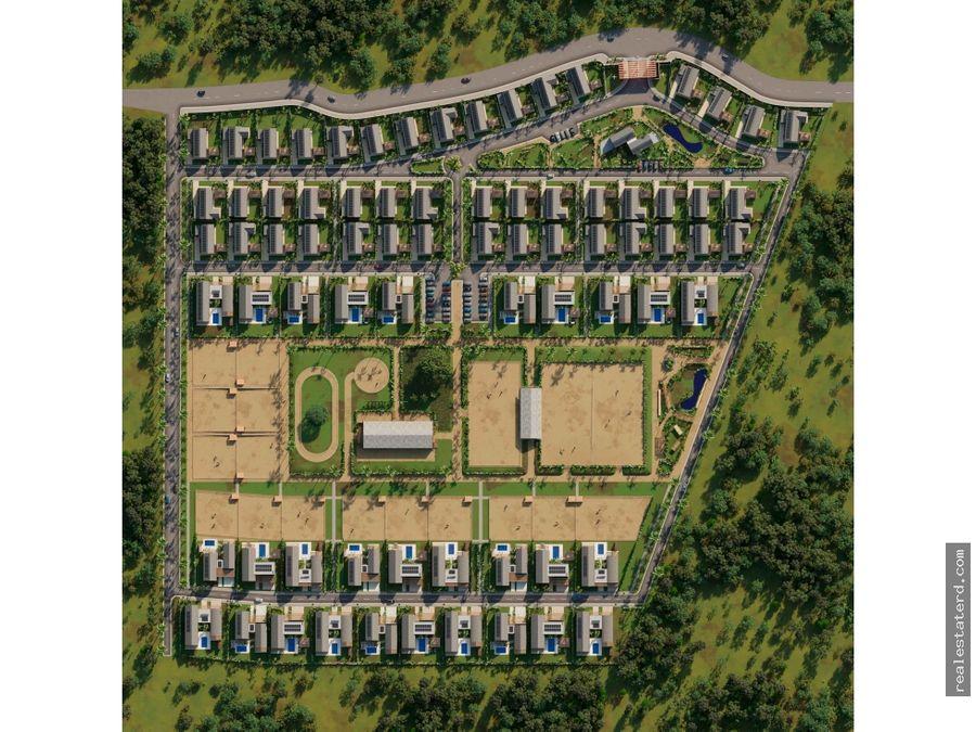 villa mustang tipo c de 3 hab en proyecto nuevo sabana
