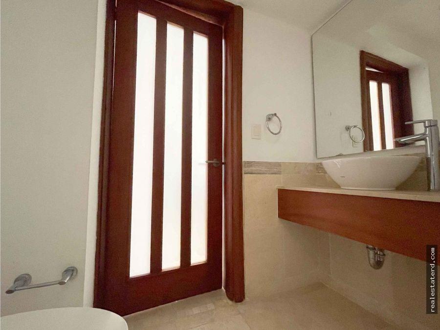 apartamento de 1 dormitorios y vista al mar en punta palmera cap cana