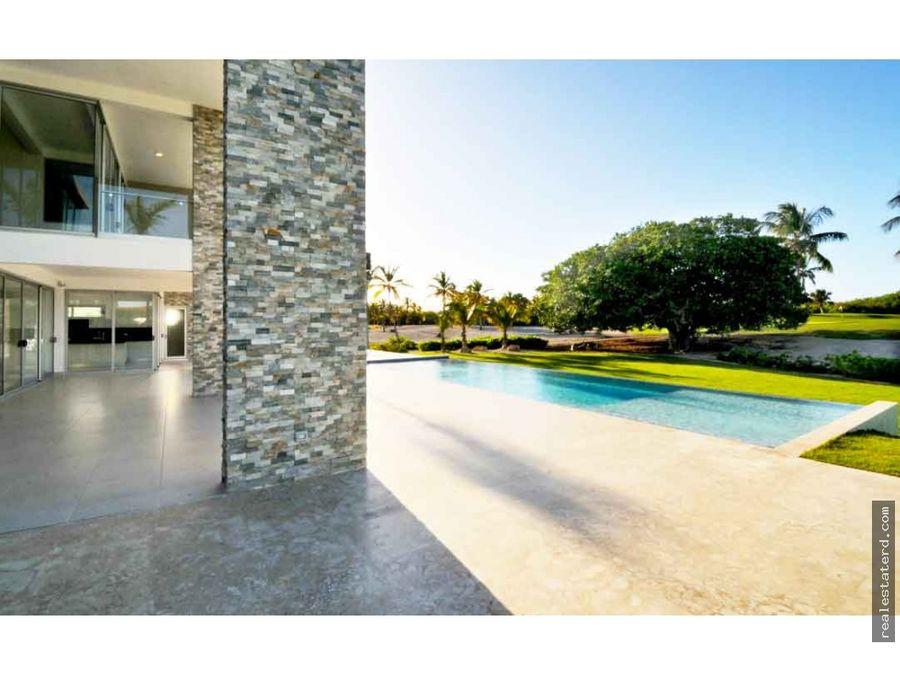 villa con 5 hab y vistas al mar y golf en las palmas