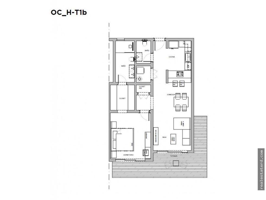 nuevo apartamento de 1 hab en exclusivo proyecto oceana