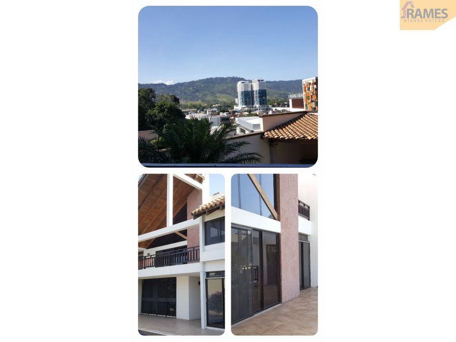 venta casa lomas del guijarro tegucigalpa