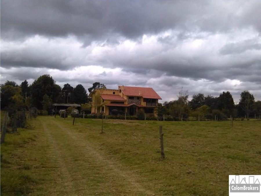 vendo casa lote en tenjo cundinamarca