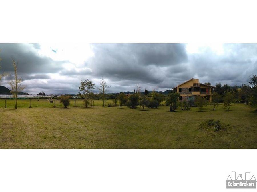 casa de campo en tenjo