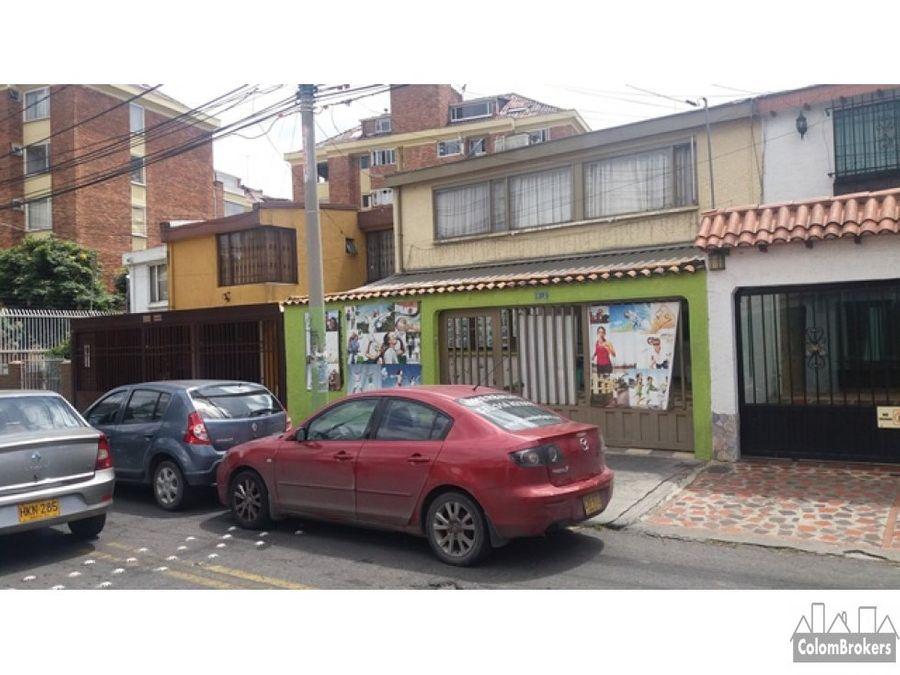 se vende casa en barrio los andes bogota