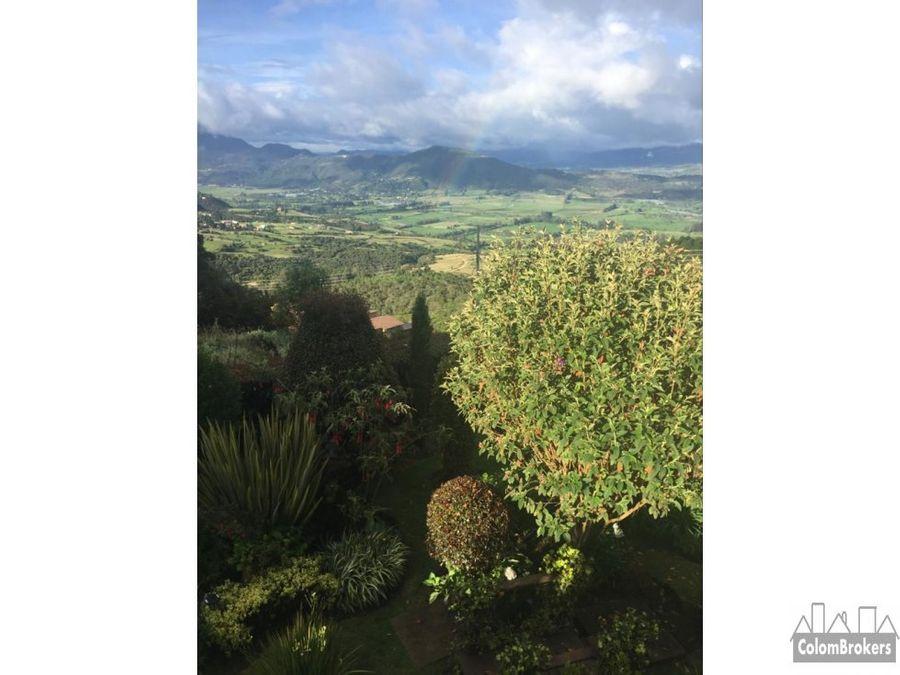 vendo casa chia yerbabuena