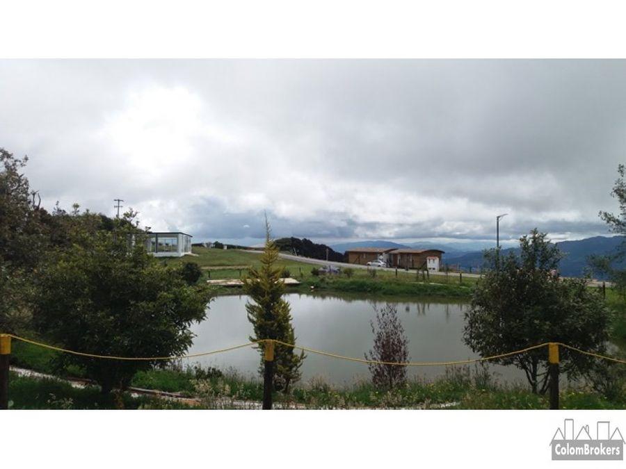 terreno en yerbabuena chia