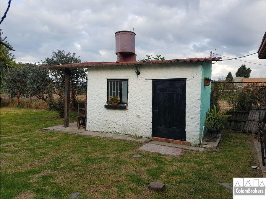 casa campestre vereda fagua chia