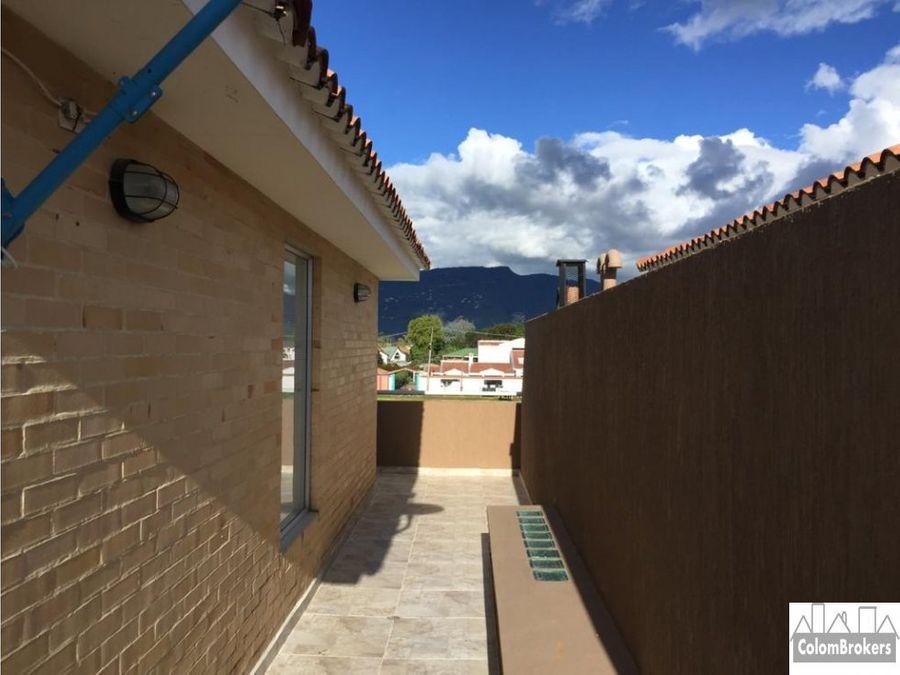 arriendo casa en chia en conjunto cerrado guaymaral