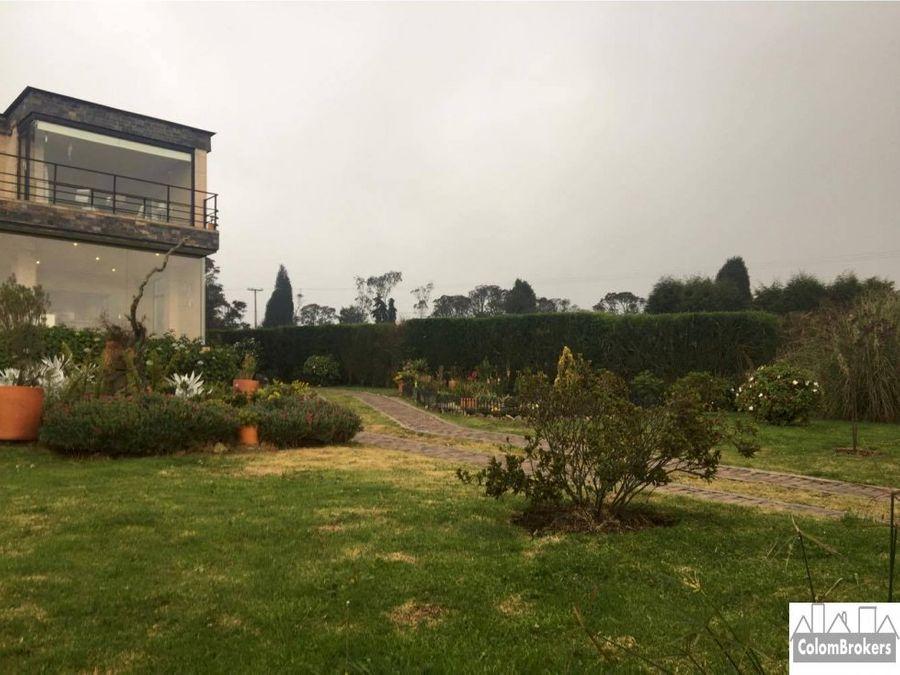 vendo casa de montana en yerbabuena chia sopo